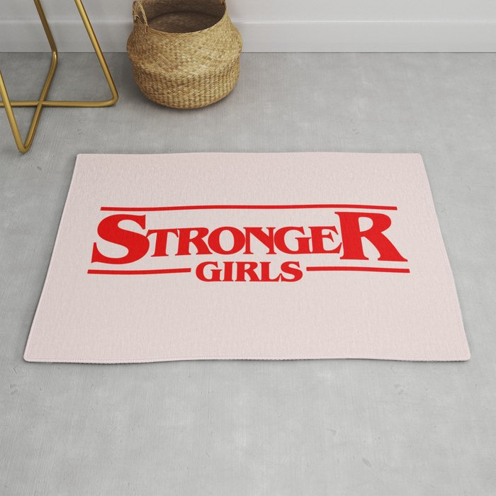 Stronger Girls Rug