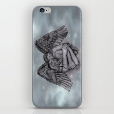 Eros , Amor - Angel and Woman in Love iPhone & iPod Skin