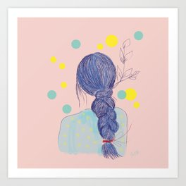 Miss Julia Art Print