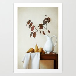 Autumn Tableau Art Print