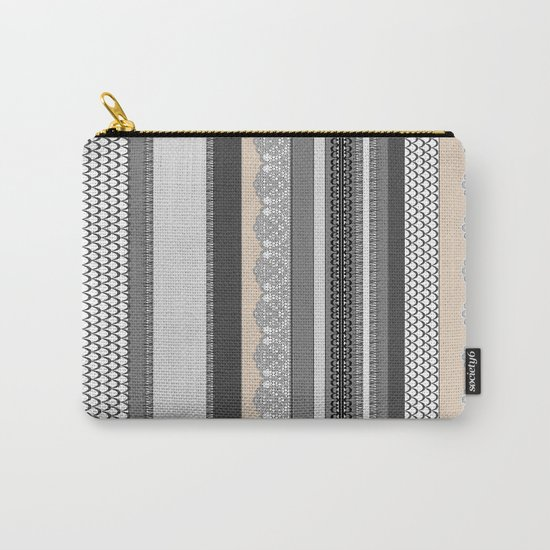 Beach House Stormy Grey Carry-All Pouch