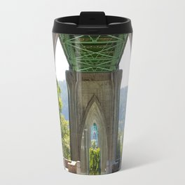 The Cathedral of St. John's Bridge Travel Mug