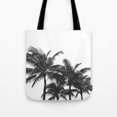 Simple palm trees Tote Bag