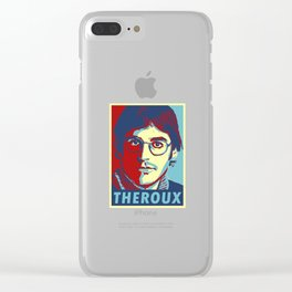 Louis theroux Clear iPhone Case