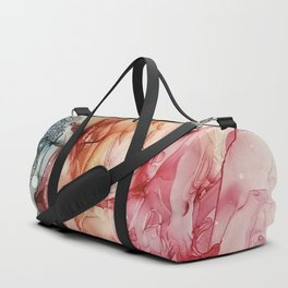 Alcohol ink painting, Abstract painting Duffle Bag