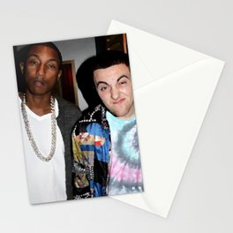 Mac Miller Pharrell Williams Pink Slime Stationery Cards