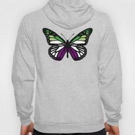 Aroace Pride Butterfly Hoody
