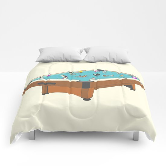 Pool Party Comforters
