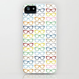 Rainbow Specs iPhone Case