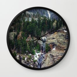 Mountain Pano Wall Clock