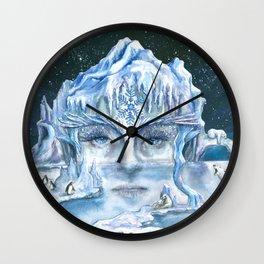 ICE NYMPH Wall Clock