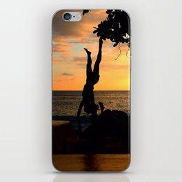 The Falling Tree iPhone Skin
