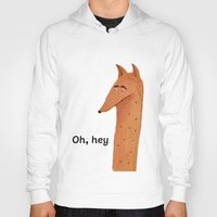 mr fox Hoodies featuring Mr Fox by Mrs Ricefield