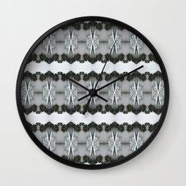 SnowLace Wall Clock