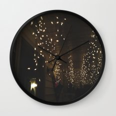 Lights, Lights and more Lights Wall Clock