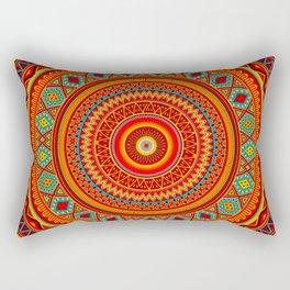 Mandala Aztec Pattern Rectangular Pillow