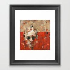 Facing Obstructions 5 Framed Art Print