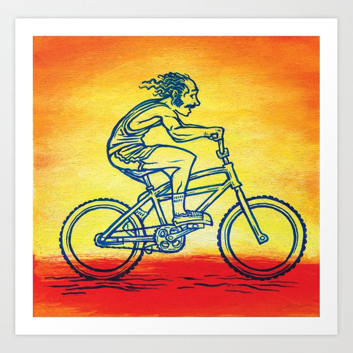 Bicycle 4 Art Print
