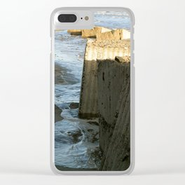 Ocean Defences Clear iPhone Case