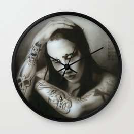 'Manson III' Wall Clock