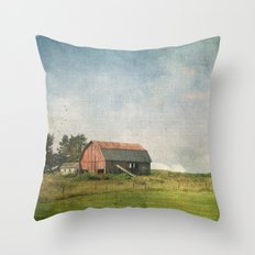 Rural Landscape #2 Throw Pillow