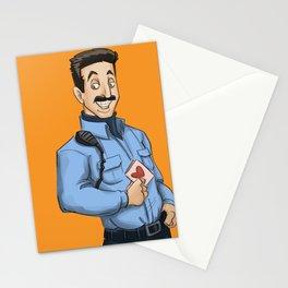 Daya, Bennet, & Pornstache OITNB Stationery Cards