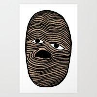potato Art Prints featuring Potato by David Ernst