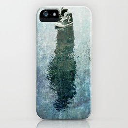 The Invisible Man Left View iPhone Case