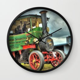 Foden Steam Wagon Wall Clock