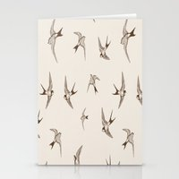 birdy Stationery Cards featuring birdy by LA creation