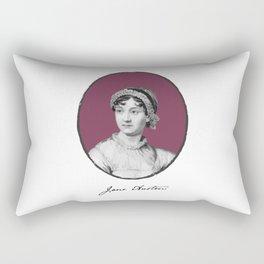 Authors - Jane Austen Rectangular Pillow