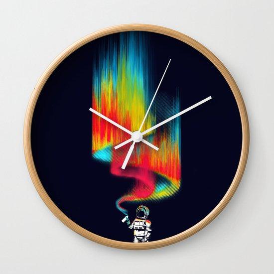 Space vandal Wall Clock