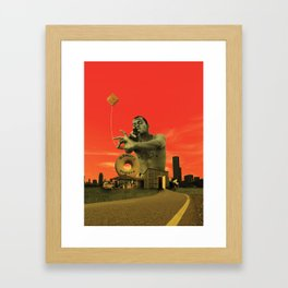 Ello Cholo Framed Art Print