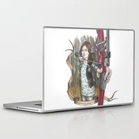 allison argent Laptop & iPad Skins featuring Allison Argent - We protect those who cannot protect themselves by MonsterFromTheLAke