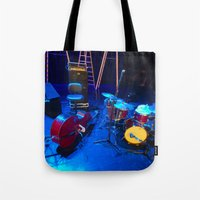 the mortal instruments Tote Bags featuring Instruments by Mauricio Santana