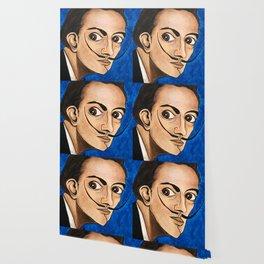 Salvador Dalí portrait Wallpaper