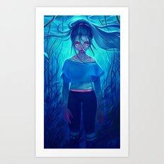 immersed Art Print