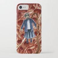 sandra dieckmann iPhone & iPod Cases featuring Sandra by Robert Elrod