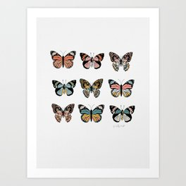 You Give Me Butterflies.. Art Print