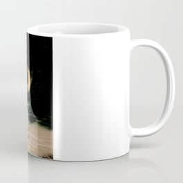 Thinking Cat Coffee Mug