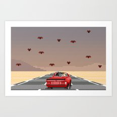 bat country. Art Print