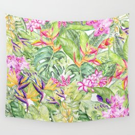 Tropical Garden 1A #society6 Wall Tapestry