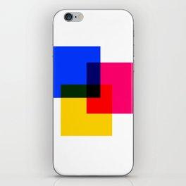 CMYK 02 iPhone Skin