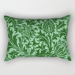 """William Morris """"Thistle"""" 4. Rectangular Pillow"""