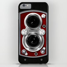 Vintage Camera Red Slim Case iPhone 6 Plus