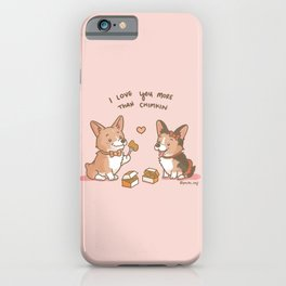 Love you More than Chimkin iPhone Case