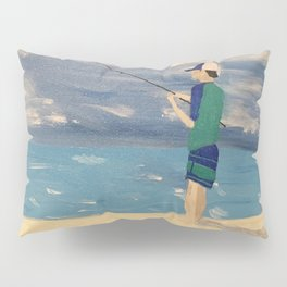 Young Man and the Sea Pillow Sham