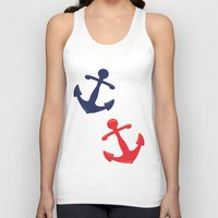 anchors Tank Tops featuring Anchors by Indulge My Heart