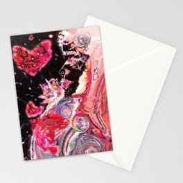 A Woman's Multiverse * Red Stationery Cards