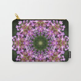 Constellation of Verbena flowers mandala Verbena bonariensis 1829 k2 Carry-All Pouch